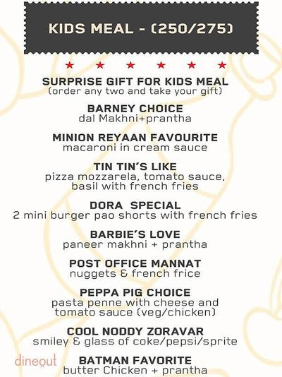 The Post Office Cafe Menu 16