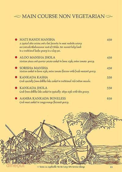 Mandaa - Ethnic Sea Food Menu 10