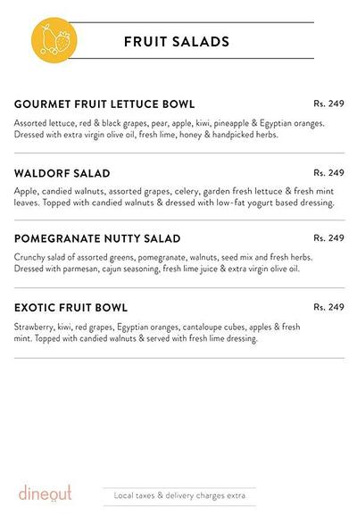 Salad Days Menu 2