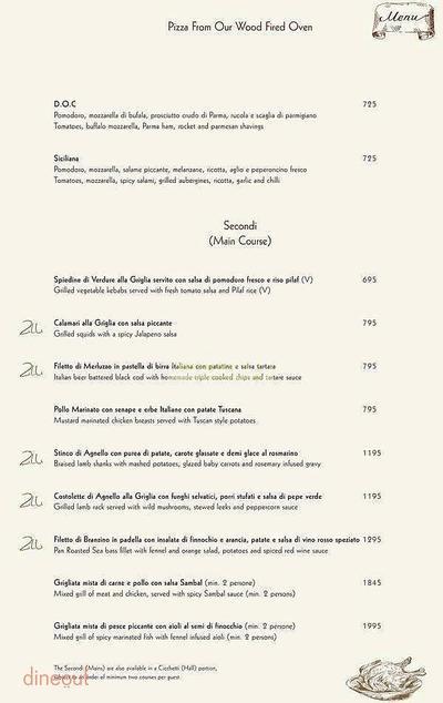 Zerruco Kitchen And Bar - The Ashok Menu 14