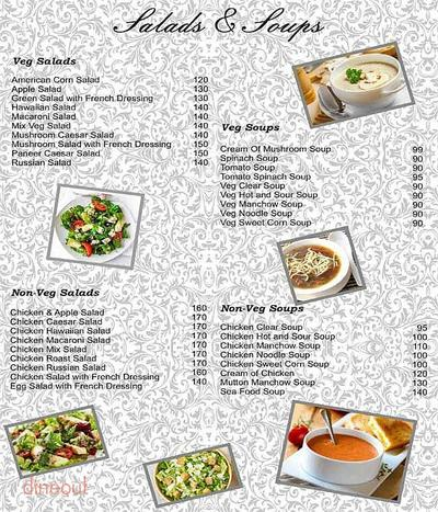 Healthy Bites Menu 1