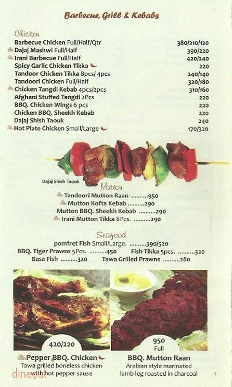 Menu of copper kitchen restaurant porur chennai for The perfect kitchen menu