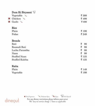 Mosaic - Country Inn & Suites by Carlson Menu 16