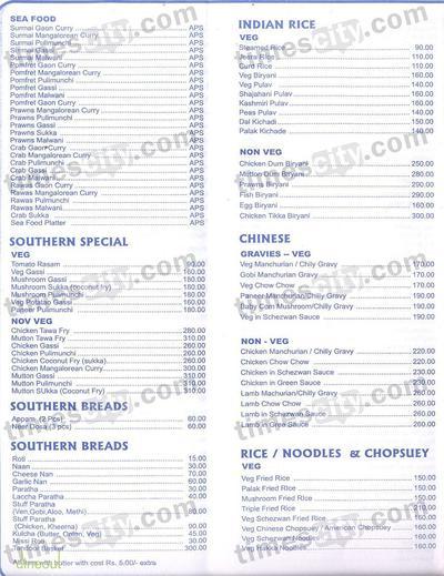 Silver Bay Premium Resto Bar Menu 2