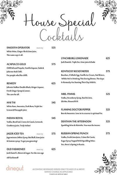 Pamphilos Kitchen & Bar Menu 13