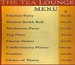 Tea Lounge - The Ashok Menu