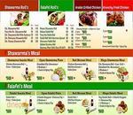 Seven - Shawarma & Burgers Menu