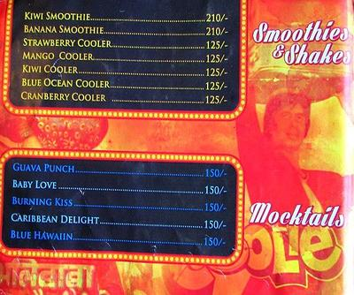 Mumbai Matinee Menu 16