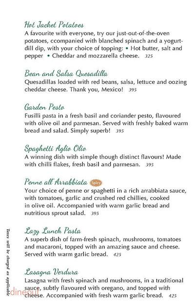 Cafe Turtle Menu 5