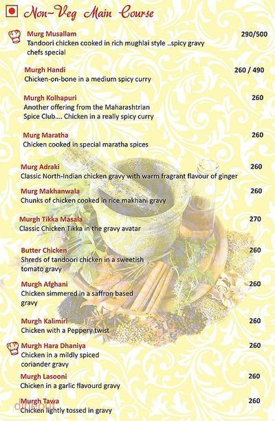 Herb n Spice Menu 9