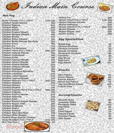 Healthy Bites Menu 6