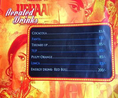 Mumbai Matinee Menu 13