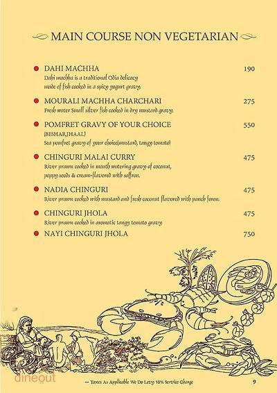 Mandaa - Ethnic Sea Food Menu 8