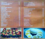 Sneha Restaurant & Bar Menu