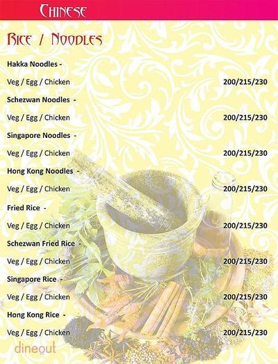 Herb n Spice Menu 16