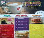 Cafe Coffee Day Menu
