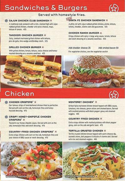 Chili's Menu 5