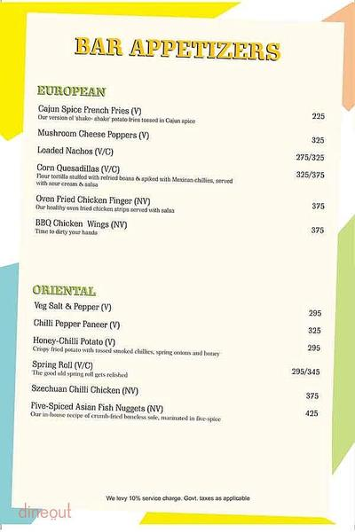 Cafe Dalal Street Menu 2