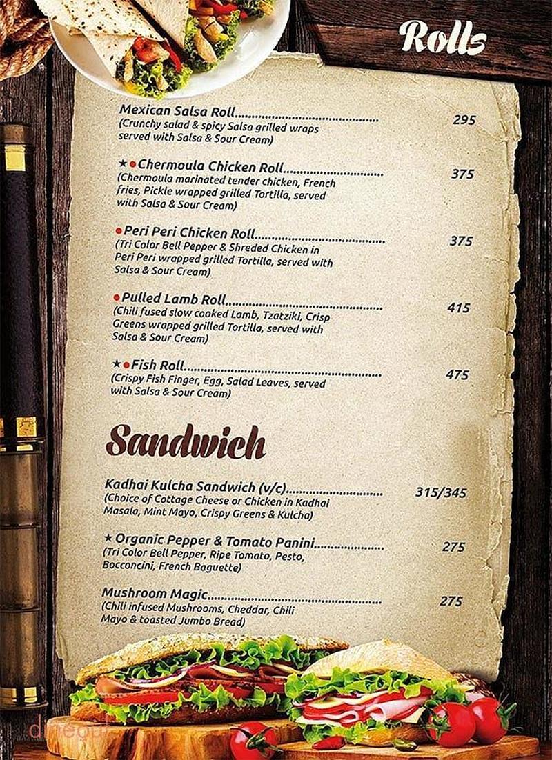 Qubitos the terrace cafe menu 6 for Qubitos the terrace cafe