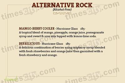 Hard Rock Cafe Menu 16