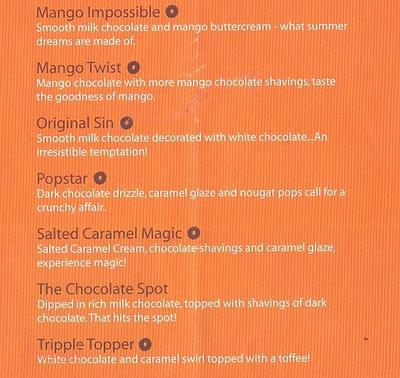 Mad Over Donuts Menu 2