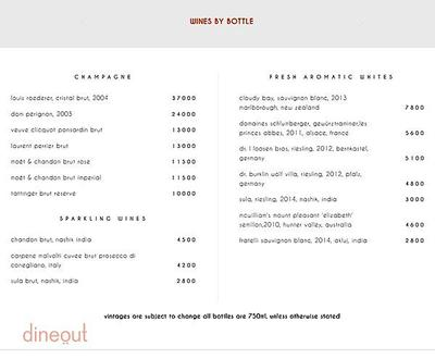 Indian Accent - The Manor Menu 7