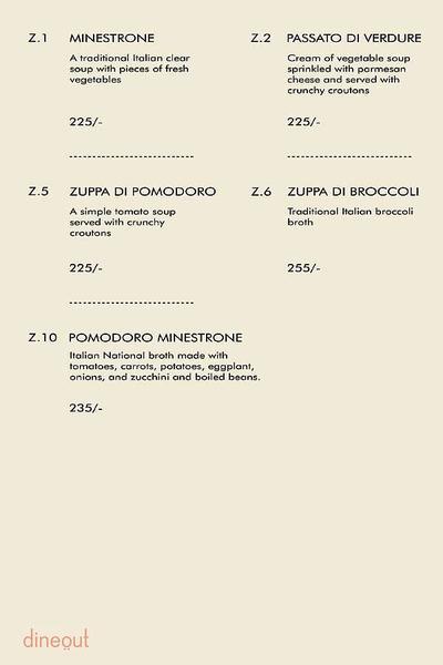 Little Italy Menu 2