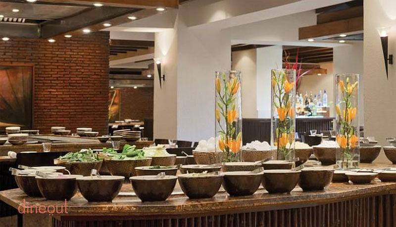 TK's Oriental Grill - Hyatt Regency Bhikaji Cama Place