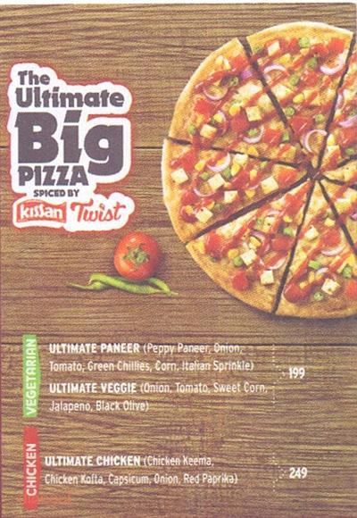 Pizza Hut Menu 4