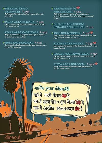 Cafe Delhi Heights Menu 7