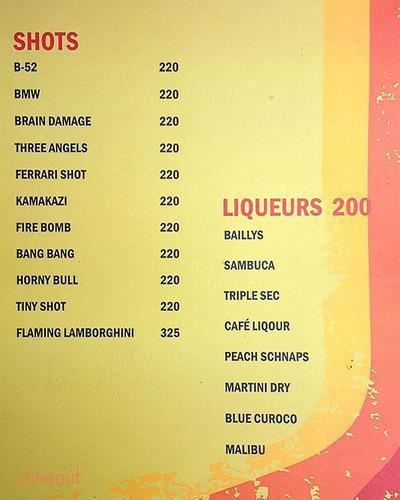 TC Bar & Restaurant Menu 14