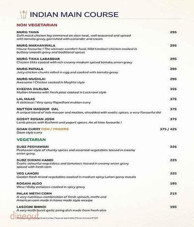 Atlantics Bar Grill & Banquets Menu 4