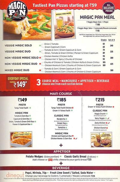 Pizza Hut Menu 3