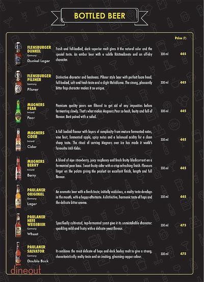 The Beer Cafe Menu 19
