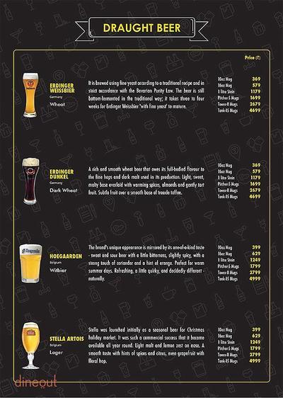 The Beer Cafe Menu 13