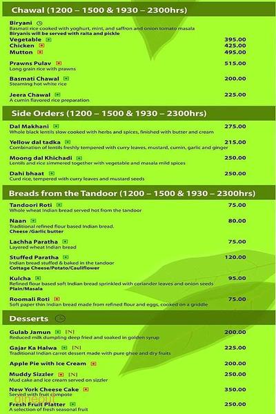Cafe Bay Leaf Menu 3