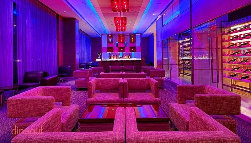 Scarlet Bar - Radisson Blu Hotel, Greater Noida Greater Noida