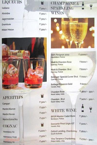 Pluto's Platinum Lounge Menu 12