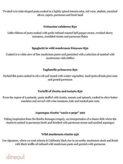 Olive Bar & Kitchen Menu 5