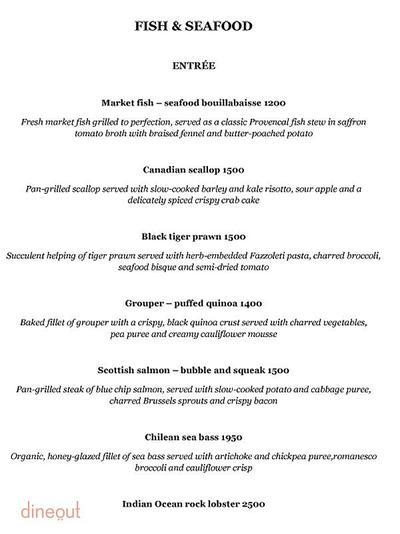 Olive Bar & Kitchen Menu 6