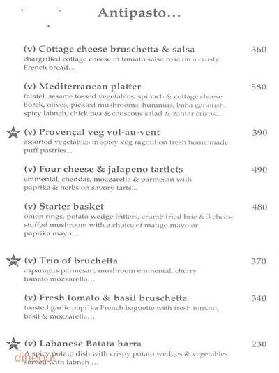 Cafe Basilico - Bistro & Deli Menu 2