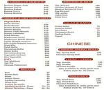 The Tanya's Cuisine Menu