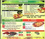 Salad Chef Menu