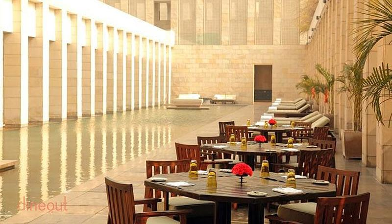 Pool Cafe - The Lodhi Lodhi Colony