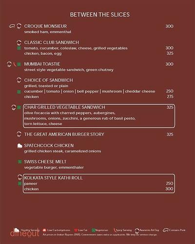 3 Spices - DoubleTree By Hilton Hotel Menu 3
