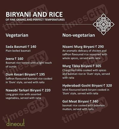 Muraqqa - The Indian Restaurant Menu 10